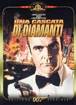 copertina di 007 - Una cascata di diamanti - Edizione Speciale