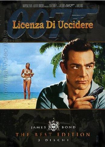 copertina di 007 - Licenza di uccidere - The Best Edition