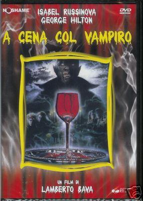 copertina di A cena col vampiro
