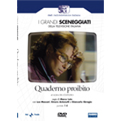 copertina di Quaderno proibito (I grandi sceneggiati della televisione italiana)