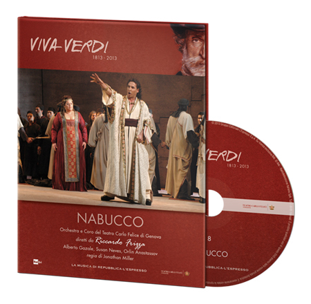 copertina di Nabucco - Viva Verdi 8