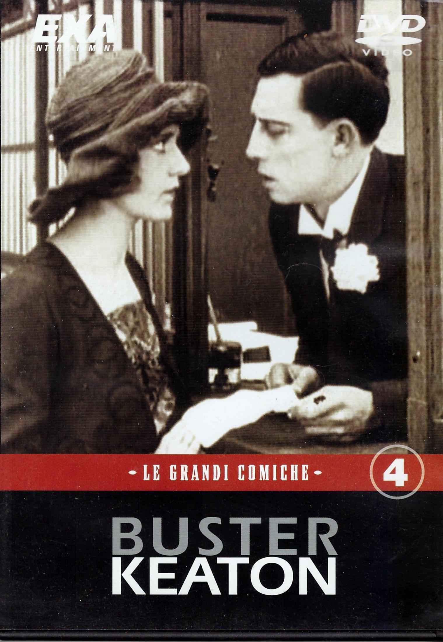 copertina di Buster Keaton. Le grandi comiche. Vol. 4