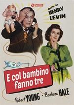 copertina di E col bambino fanno tre (Cineclub Classico)