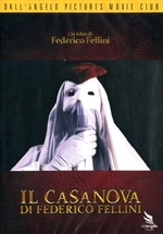 copertina di Casanova di Federico Fellini, Il