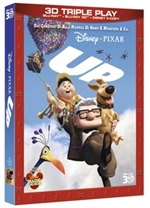 copertina di Up - Triple Play (Blu-Ray 3D + Blu-Ray Disc + E-Copy)