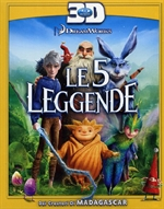 copertina di 5 leggende, Le (Blu-Ray 3D)
