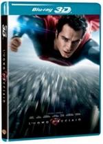 copertina di L'uomo d'acciaio 3D (Blu-Ray 3D + Blu-Ray Disc + Copia Digitale)