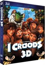 copertina di I Croods 3D - Deluxe Edition (Blu-Ray 3D + Blu-Ray Disc + DVD)