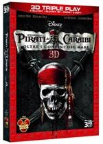 copertina di Pirati dei Caraibi - Oltre i confini del mare 3D (bd3D+bd+E-Copy)
