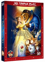 copertina di Bella e la Bestia, La - 3D (Blu-Ray Disc + Blu-Ray 3D + Digital Copy)