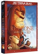 copertina di Re Leone, Il - Edizione Speciale 3D (Blu-Ray 3D + Blu-Ray Disc + E-Copy)