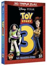 copertina di Toy Story 3 - La grande fuga - Triple Play (Blu-Ray 3D + Blu-Ray Disc + E-Copy)