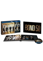 copertina di 007 Bond 50 - Monsterbox (23 Blu-Ray Disc)