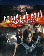 copertina di Resident Evil - Damnation