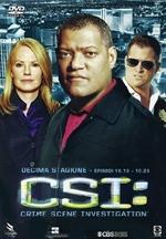 copertina di C.S.I. - Scena del Crimine - Stagione 10 - parte 2