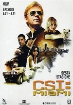 copertina di C.S.I. MIAMI - Stagione 6 - Parte 1