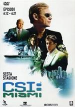 copertina di C.S.I. MIAMI - Stagione 6 - Parte 2