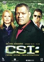 copertina di C.S.I. - Scena del Crimine - Stagione 10 - parte 1