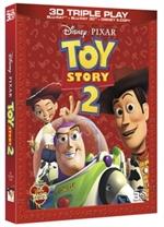 copertina di Toy Story 2 - Triple Play (Blu-Ray 3D + Blu-Ray Disc + E-Copy)