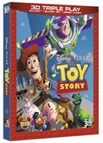 copertina di Toy Story - Triple Play (Blu-Ray 3D + Blu-Ray Disc + E-Copy) (Pixar)