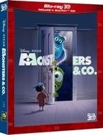 copertina di Monsters & Co. 3D (Blu-Ray 3D + Blu-Ray Disc)