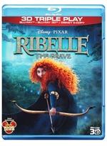copertina di Ribelle - The Brave - Triple Play (Blu-Ray 3D + Blu-Ray Disc + E-Copy)