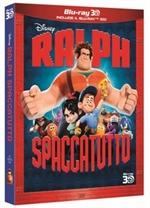 copertina di Ralph Spaccatutto 3D (Blu-Ray 3D + Blu-Ray Disc)