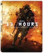 copertina di 13 Hours - The Secret Soldiers of Benghazi (Blu-Ray Disc - SteelBook)