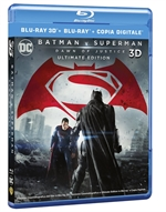 copertina di Batman v Superman - Dawn of Justice - Ultimate Edition (Blu-Ray 3D + 2 Blu-Ray Disc + Copia Dig.)