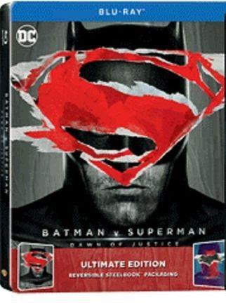 copertina di Batman v Superman - Dawn of Justice (steelbook)