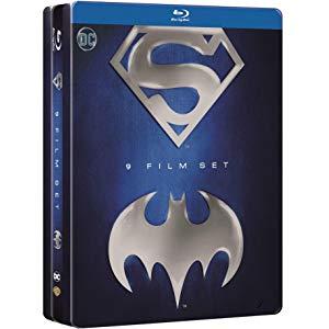 copertina di Batman/Superman Anthology Tin