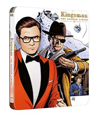 copertina di Kingsman - Il cerchio d'oro (Steelbook)