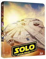 copertina di Solo - A Star Wars Story(bd3D+bd+Bonus Disc - SteelBook)