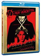 copertina di V per Vendetta