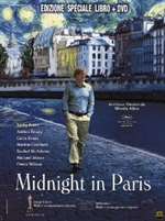 copertina di Midnight in Paris
