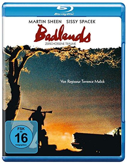 copertina di Badlands (La rabbia giovane)