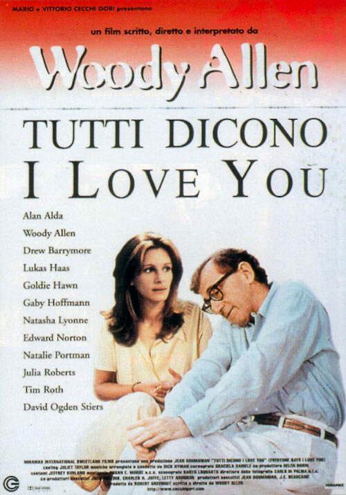 copertina di Tutti dicono I love you