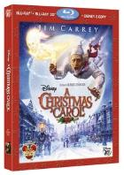 copertina di Christmas Carol, A (Blu-Ray 3D + Blu-Ray Disc + E-Copy)