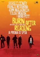 copertina di Burn After Reading - A prova di spia