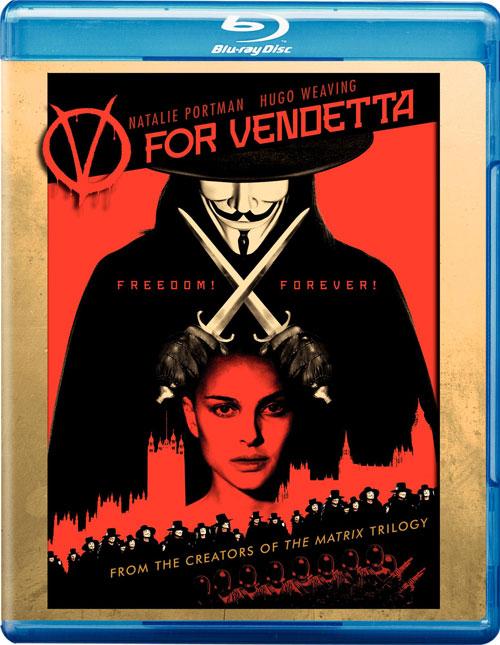 copertina di V for Vendetta