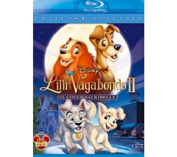 copertina di Lilli e il vagabondo II - il cucciolo ribelle