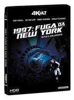 copertina di 1997 Fuga da New York (4Kult) (4K Ultra HD + Blu-Ray Disc)