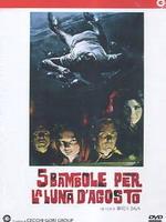 copertina di 5 bambole per la luna d'agosto