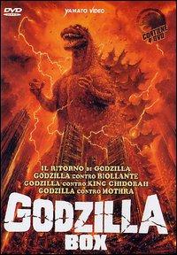 copertina di Godzilla Box