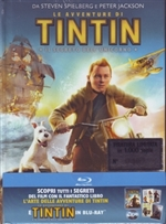 copertina di Avventure di Tintin, Le - Il segreto dell'Unicorno - Edizione Limitata (Blu-Ray Disc - DigiBook)