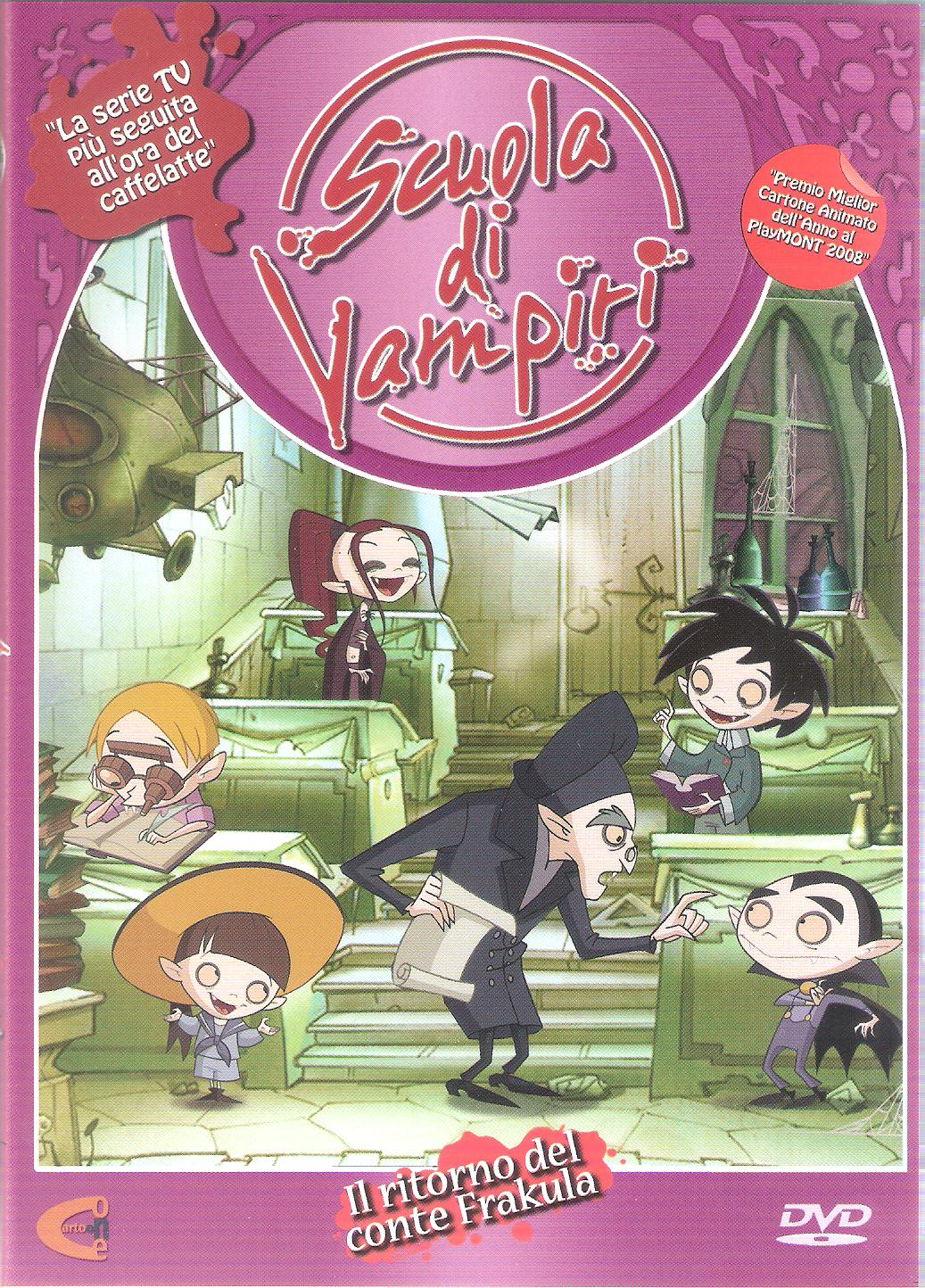 Scuola di vampiri serie vol homevideo database