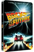 copertina di Back To The Future Trilogy: Steelbook (4 Discs)