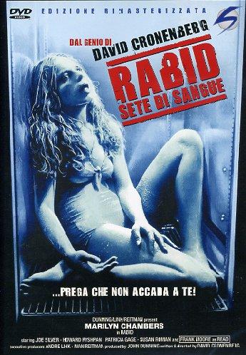 copertina di Rabid - Sete di Sangue