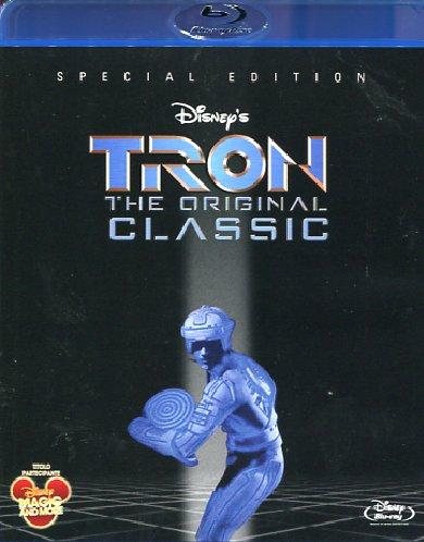 copertina di Tron