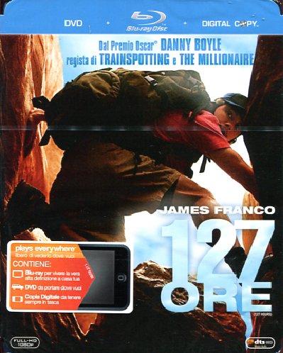 copertina di 127 ore